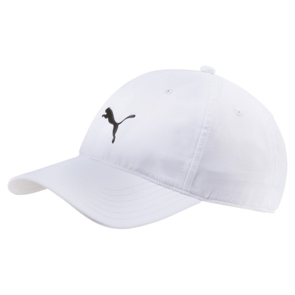 Golf Men's Pounce Adjustable Cap, Bright White, large