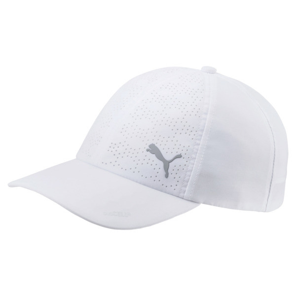 Product Storystay Cool And Protected From The Sun With This Super Lightweight Golf Cap Featuring Duocell Technology. detailslightweight Curved Duocell Visormoisture-Wicking Stretch Performance Sweatbandadjustable Hook-And-Loop Backstrap100% Polyester | PUMA Women\\'s DuoCell Adjustable Cap in Bright White