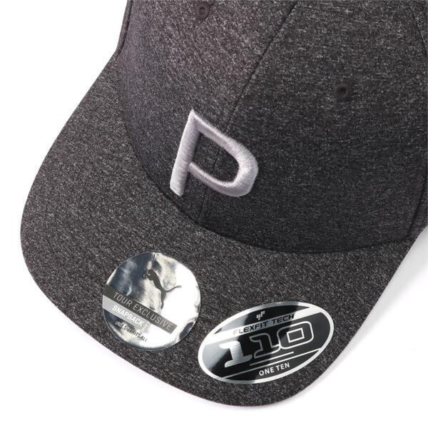ゴルフ Pマークスナップバックキャップ, Puma Black Heather, large-JPN