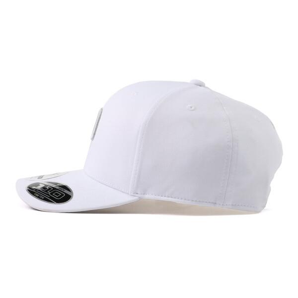 ゴルフ Pマークスナップバックキャップ, Bright White Heather, large-JPN