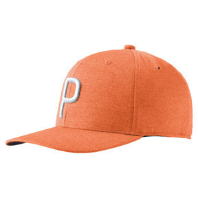 Thumbnail 1 of Golf Men's P Snapback Cap, Vibrant Orange, medium