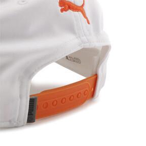 Thumbnail 6 of ゴルフ Pマークスナップバックキャップ, Bright White-Vibrant Orange, medium-JPN