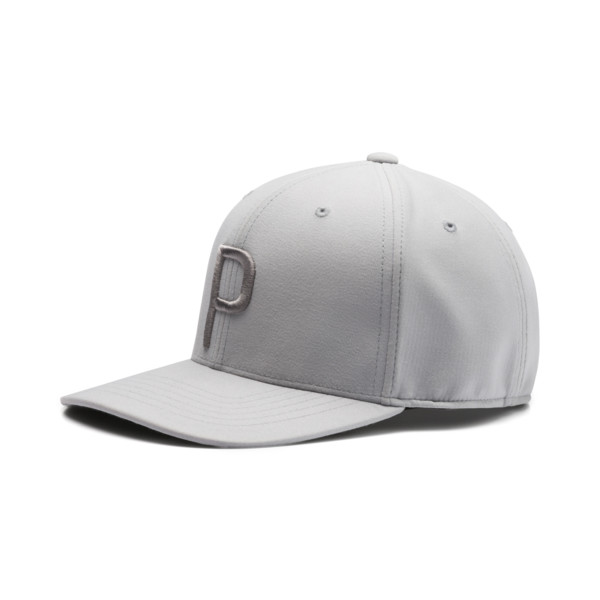 Golf Men's P Snapback Cap, Quarry-QUIET SHADE, large