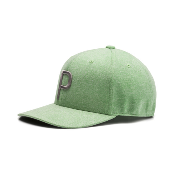 P Snapback Hat, Irish Green, large