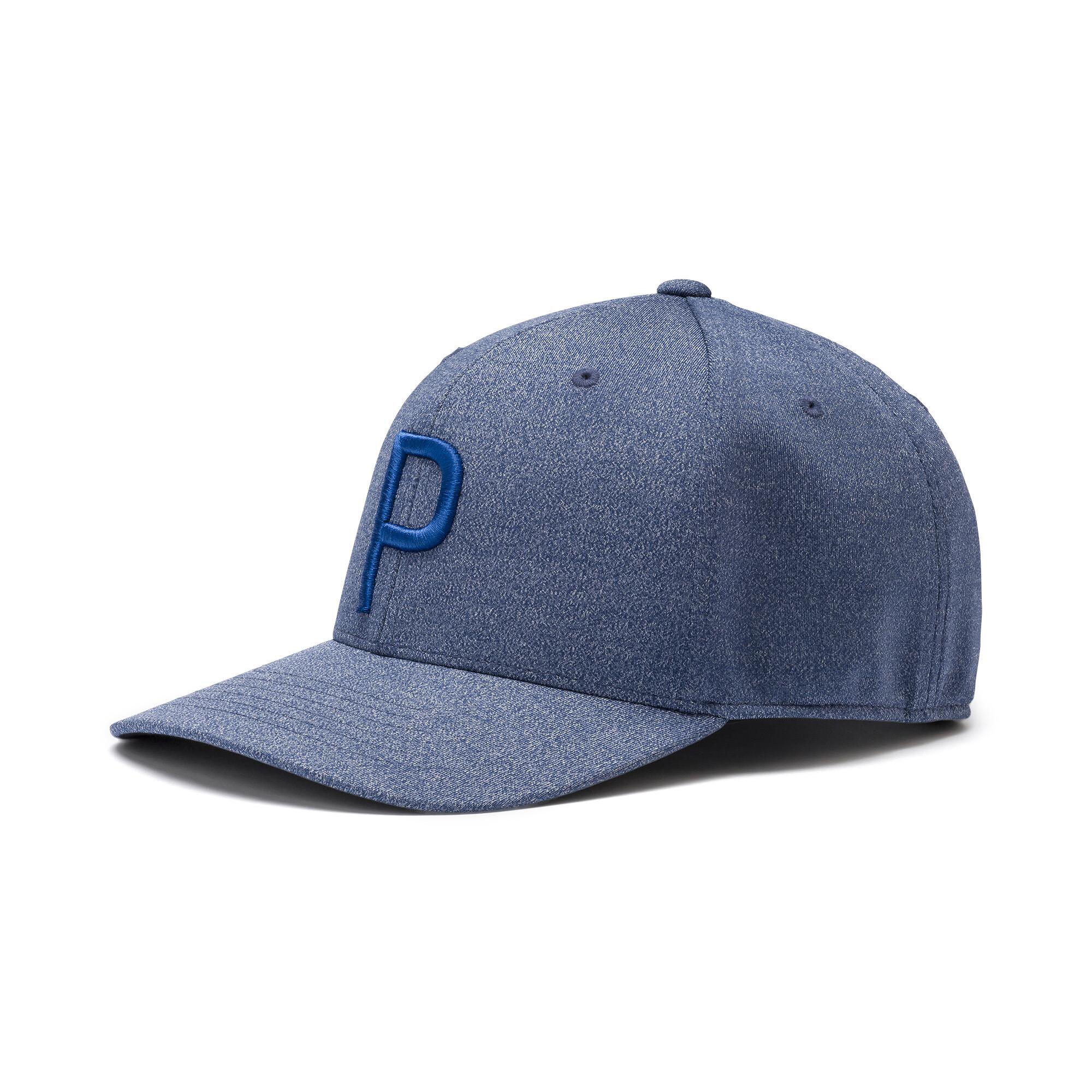 プーマ ゴルフ Pマークスナップバックキャップ メンズ Peacoat-Dazzling Blue