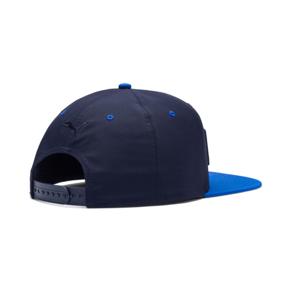 Flatbrim Hat, Peacoat, large