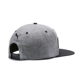 Thumbnail 2 of Flatbrim Cap, Medium Gray Heather-Black, medium