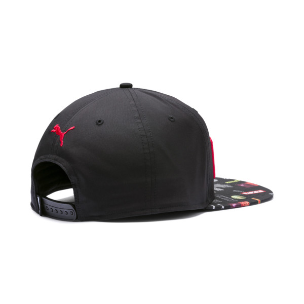 Casquette Flatbrim, Puma Black-Graphic, large