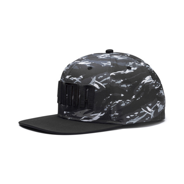 Flatbrim Hat, Dark Shadow-Camo, large