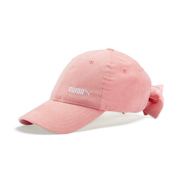 Women's Bow Cap, Shell Pink, large