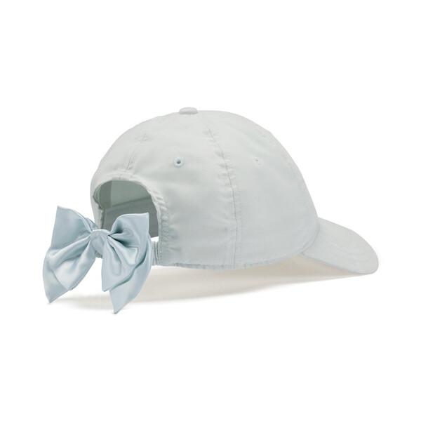Women's Bow Cap, Blue Flower, large