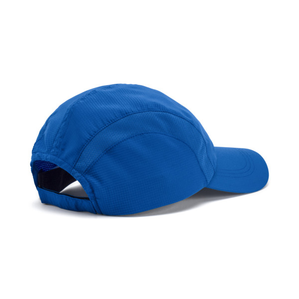 Performance Running Cap, Strong Blue, large