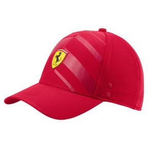 Thumbnail 1 of Ferrari Fanwear Tech Baseball Hat, Rosso Corsa, medium