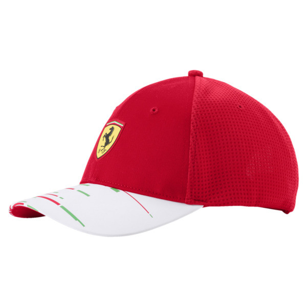 Scuderia Ferrari Replica Team Hat JR, rosso corsa, large