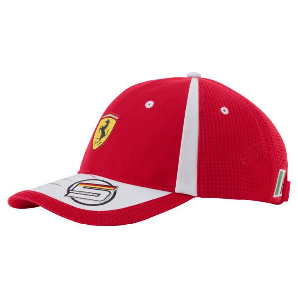 Casquette Ferrari Replica Vettel, rosso corsa, large