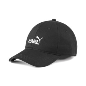 Thumbnail 1 of PUMA x KARL LAGERFELD Cap, Puma Black, medium