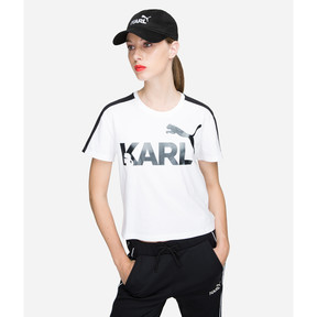 Thumbnail 3 of PUMA x KARL LAGERFELD Cap, 01, medium