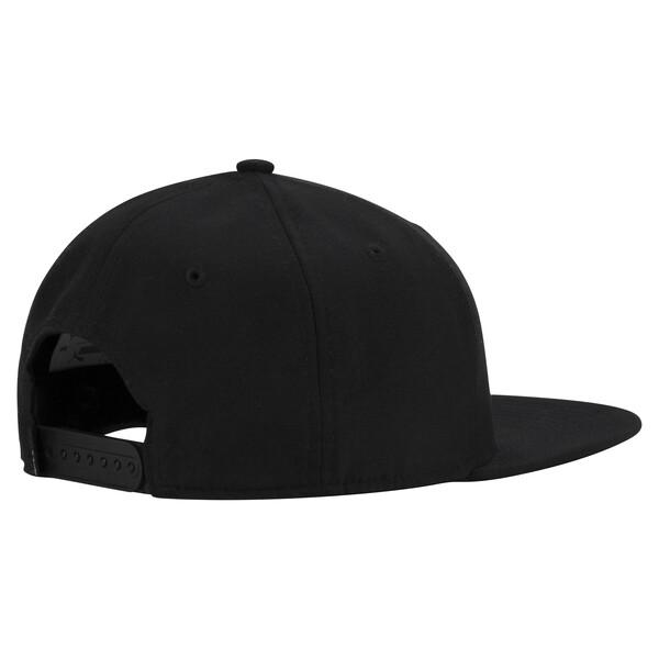 Golf Cresting Snapback Cap, Puma Black, large