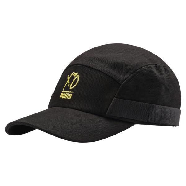 PUMA x XO Canvas Cap, Puma Black, large