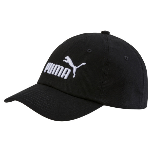 ESS Woven Kids' Cap, Puma Black-No.1, large