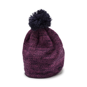 Thumbnail 2 of PWRWARM Women's Pom Beanie, 02, medium