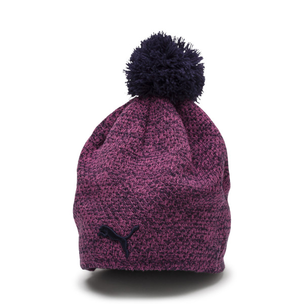 PWRWARM Women's Pom Beanie, 02, large