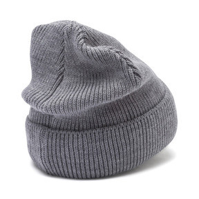 Miniatura 3 de Gorro de lana clásico acanalado, Medium Gray Heather, mediano