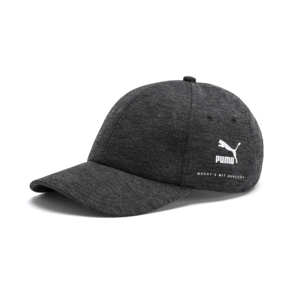 Archive Men's Premium Baseball Cap, Dark Gray Heather, large