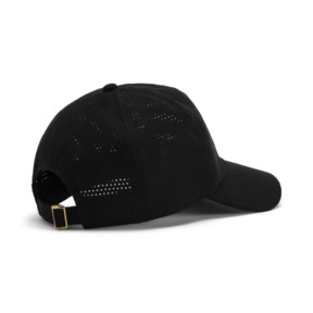 Thumbnail 2 of Suede Baseball Cap, Puma Black, medium