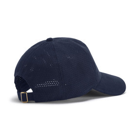 Thumbnail 2 of Casquette Suede Baseball, Peacoat, medium
