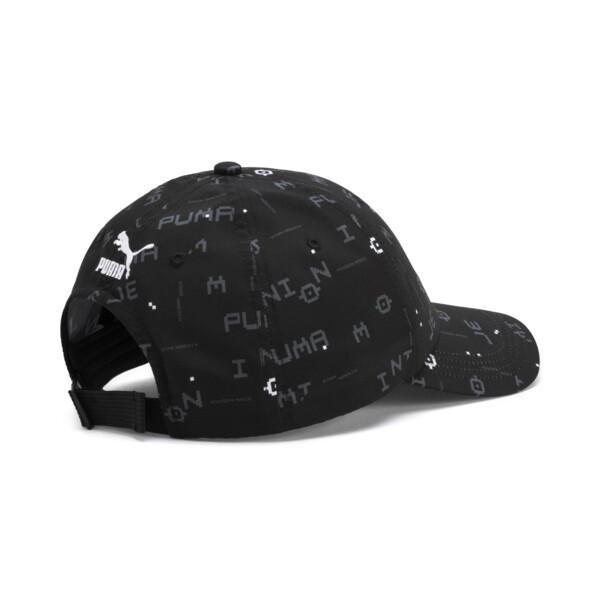 PUMA x MINIONS Baseball Cap, Puma Black-AOP, large