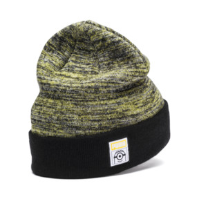 Thumbnail 2 of Minions Kids Beanie, Puma Black, medium