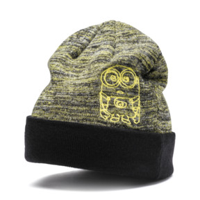 Thumbnail 1 of Minions Kids Beanie, Puma Black, medium