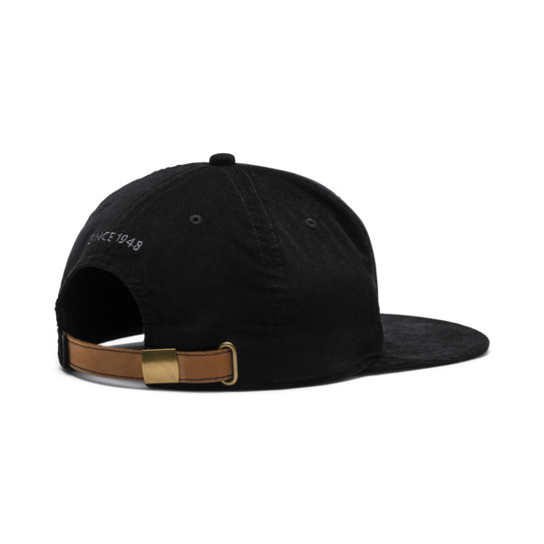 Archive Downtown Flatbrim Cap, Puma Black, large