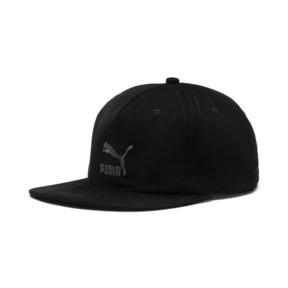 Thumbnail 1 of Archive Downtown Flatbrim Cap, Puma Black, medium