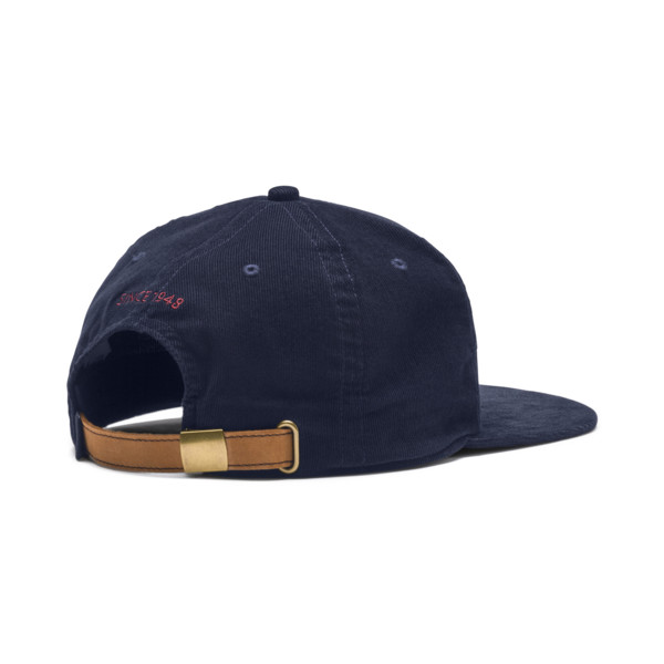 Archive Downtown Flatbrim Cap, Peacoat, large