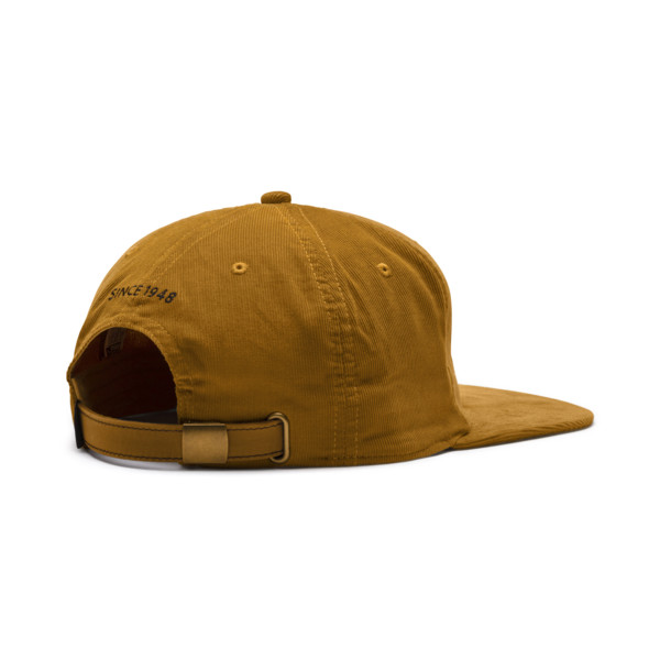 Archive Downtown Flatbrim Cap, Buckthorn Brown, large