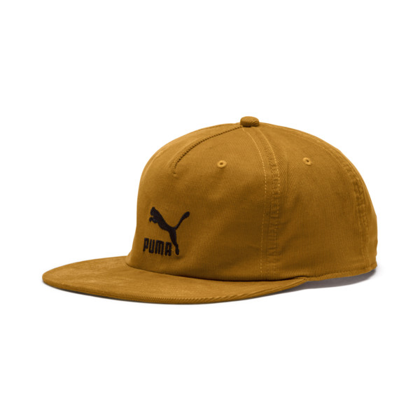 Casquette Archive Downtown Flatbrim, Buckthorn Brown, large