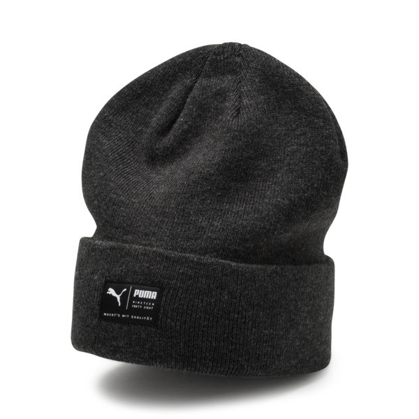 Archive Heather Beanie, Puma Black, large