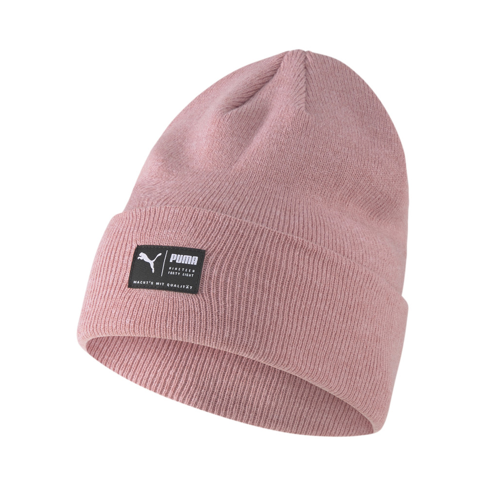Изображение Puma Шапка ARCHIVE heather beanie #1