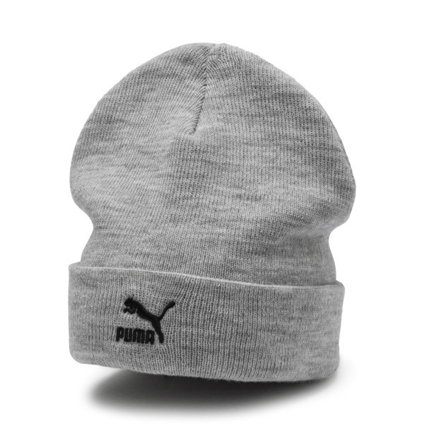 Bonnet Archive Mid Fit Beanie, Light Gray Heather, large