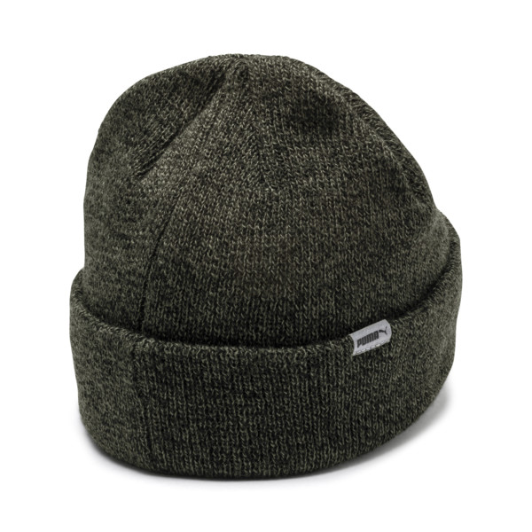 Pace Street Beanie, Forest Night-Puma black, large