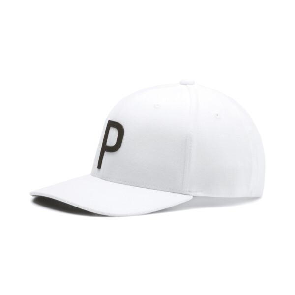 ゴルフ スローバック P 110 スナップバック キャップ, Bright White, large-JPN