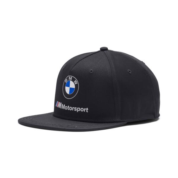 BMW M-SPORT Flatbrim Hat, Anthracite, large