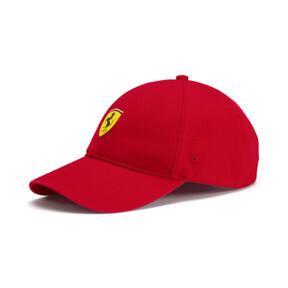 Thumbnail 1 of Scuderia Ferrari Fan Baseball Hat, Rosso Corsa, medium