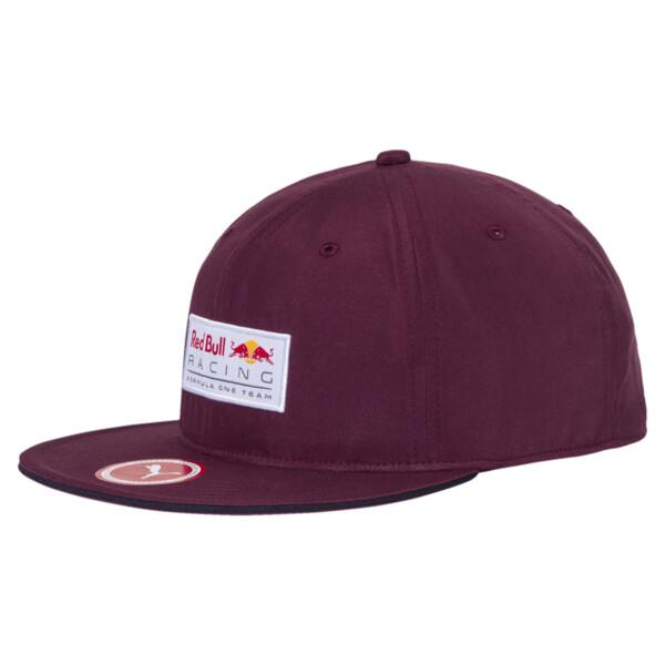 Red Bull Racing Lifestyle Flatbrim Cap, Fig, large