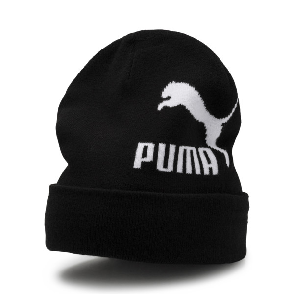 Archive Logo Beanie, Puma Black, large
