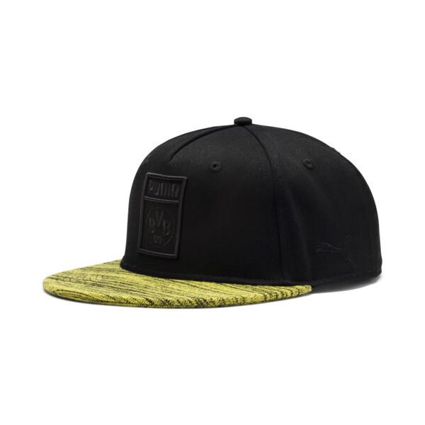 BVB Flatbrim Cap, Puma Black, large