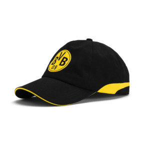Thumbnail 1 of BVB Trainings-Cap, Puma Black-Cyber Yellow, medium