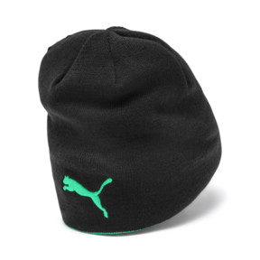 Thumbnail 2 of Borussia Mönchengladbach Reversible Beanie, Puma Black-Bright Green, medium